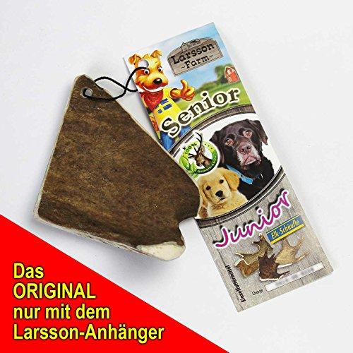Larsson Geweih Hunde Kau-Snack – ELK-Schäufle II - 2
