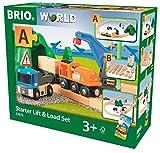 BRIO World  - 33878 - CIRCUIT DE DEMARRAGE TRANSPORT DE FRET...