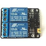 opto-isolated de 2canales Módulo de relé disparador de baja 5V Arduino/Raspberry Pi