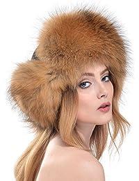 Damen Winter Warm Kunstfell Pelzmütze Wintermütze Fellmütze Russenmütze Skimütze