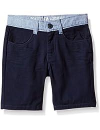 Nautica Boys' Contrast Trim Short