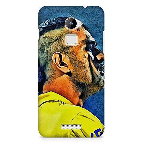 Motivate Box M.S. Dhoni Design/chennai Super King Design All Side Printed Hard Plastic phone's Back case/Cover for Coolpad Note 3 Lite