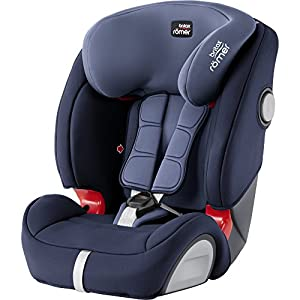 Britax Römer EVOLVA 1-2-3 SL SICT Group 1-2-3 (9-36kg) Car Seat - Moonlight Blue   12