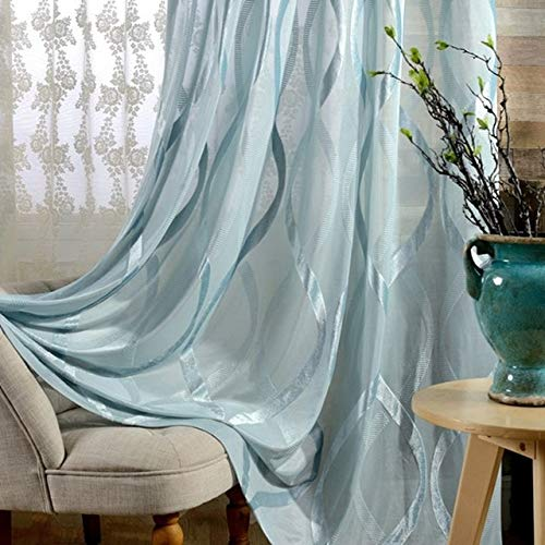 check MRP of blue curtains sheer Generic