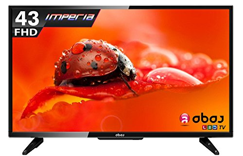 ABAJ Imperia LN 109 FHD 109cms (43″) Full HD LED TV (Black)