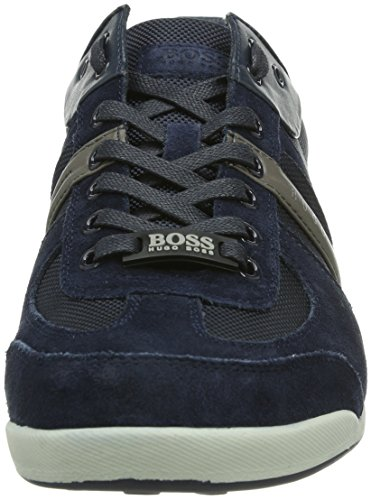 Boss Green Akeen 10167168 01, Baskets mode homme Bleu
