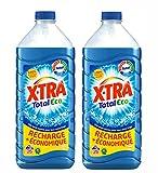 X Tra Total Eco Flacon Lessive Liquide 1,82 L Lot de 2