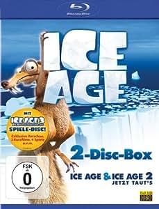 Ice Age 1+2 [Blu-ray]