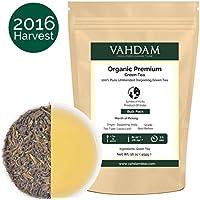 VAHDAM Tè verde biologico (225 tazze), tè in foglie proveniente
