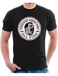 Freddie Mercury Converse All Star Icon Men's T-Shirt