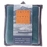 Aquis Adventure Towel, Seafoam, Medium