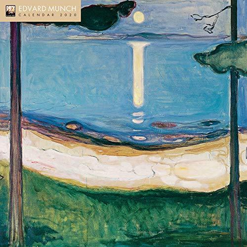 Edvard Munch 2020: Original Flame Tree Publishing-Kalender [Kalender] (Wall-Kalender)