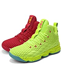 0b074c906607 SINOES Men and Women Basketball Shoes Performance Shock Absorption Basketball  Boots Trainer SneakersCushion Youth Student Basketball…