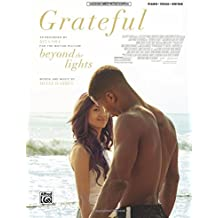 Grateful from Beyond the Lights: Piano/vocal/guitar, Sheet
