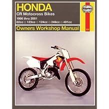 Honda CR Motocross Bikes: 1986-2001 (Haynes Repair Manuals) by John Haynes (2001-12-01)