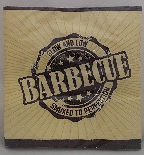 Preisvergleich Produktbild TIB Heyne 20 Servietten mit Barbecue-Logo für Party,  Grillen und Geburtstag