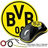 Borussia Dortmund BVB-Mouse mit Mousepad und Targit Glider