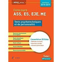 Concours Ass Es Eje Me Tests Psychotechniques et de Personalite Essentiel Fich
