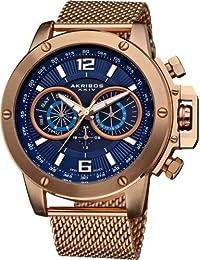 Akribos AK515RG - Reloj para hombres