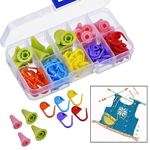 Xrten 60 Pcs Marcadores Puntos Bloqueo Plástico