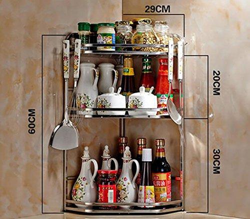 Fafz cucina mensole da cucina scaffale per spezie cucina treppiede 2 - Scaffale per cucina ...