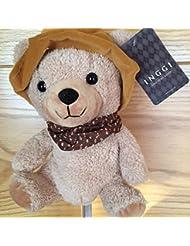 INGGI TEDDY BEAR GOLF PUTTER HYBRID OR RESCUE HEADCOVER. JOHN BOY