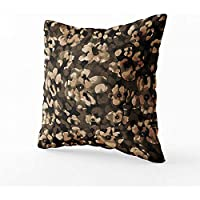Nat Abra Galaxy Throw Pillow Cover, Spiral Universe in a Field of Stars Astronomy Theme Deep Outer Space Print,Pillow Sham Cases for Couch Sofa Chair 45X45CM