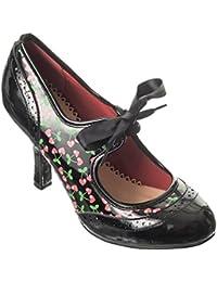 Banned - Zapatos de vestir de Material Sintético para mujer negro negro, color negro, talla 40
