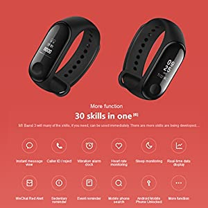 Xiaomi Mi Band 3 Fitness Pulsera SmartWatch Smart Wristband Sleep Tracker 5ATM Swimmable