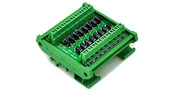 Electronics-Salon 3 Amp 1000V Common Anode 16 Diode Network Module 1N5408.