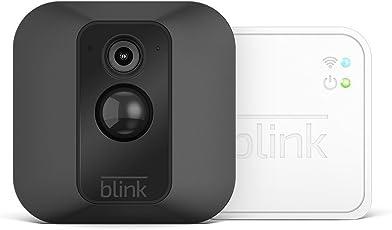 Sistema di telecamere per la sicurezza domestica Blink XT, con rilevatore di movimento, supporto da parete, video in HD, batterie con una durata di 2 anni e archiviazione sul cloud - Sistema a 1 telecamera