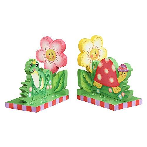 Fantasy Fields Magic GardenKids Holz-BuchstützenKinderzimmer Dekor W-9838 -