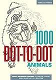 1000 Dot-to-Dot: Animals - Thomas Pavitte