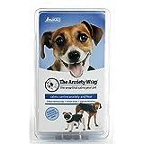 Anxiety Wrap Manteau pour chien, thérapie instantanée pour chiens qui ont peur des orages, bruits forts, voyages, étrangers et de la séparation. Taille 1(Jouet)