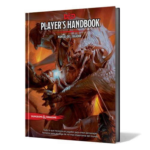 Comprar Dungeons & Dragons - Player's Handbook: Manual del Jugador (Edge Entertainment EEWCDD01)