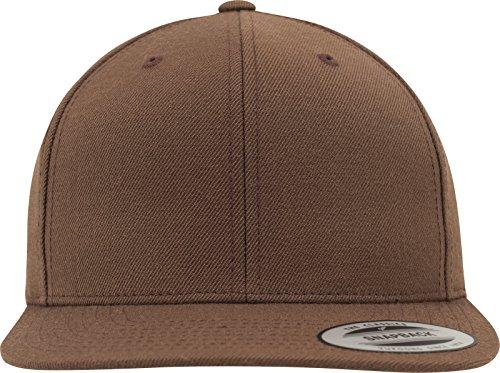 Flexfit Classic Snapback Cap, Mütze für Kinder, One Size, Farbe tan