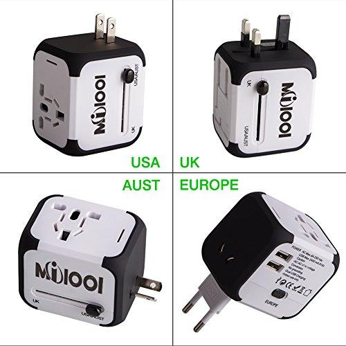 Voyage-Adaptateur-Milool-Tout-en-un-dans-le-Monde-Entier-Voyage-Convertisseur-pour-US-UK-UA-UE-Environ-150-Pays-Mur-Universal-Power-Plug-Adapter-Chargeur-avec-Fusible-de-Scurit-Dual-USB-