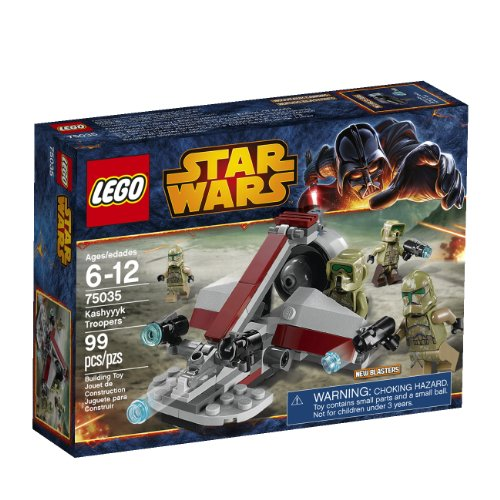 Lego, Star Wars, Kashyyyk Troopers (75035)
