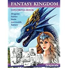 Fantasy Kingdom. Grayscale Adult coloring book by Alena Lazareva (2016-07-09)