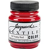 Jacquard Produkte Ruby red-Textile Farbe Farbe, Acryl, Mehrfarbig