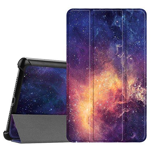 Fintie Hülle Case für Huawei Mediapad M5 8 Tablet - Ultra Dünn Superleicht SlimShell Ständer Case Cover Schutzhülle Auto Sleep/Wake Funktion für Huawei MediaPad M5 21,34 cm (8,4 Zoll), Die Galaxie