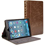 Gmyle Book Case Vintage for iPad Air 2 - Brown