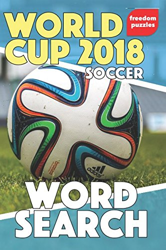 World Cup 2018 Soccer: Handy Word Search Puzzle Book