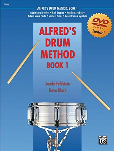 Alfred's Drum Method, Book 1: The Most Comprehensive Beginning Snare Drum Method Ever! (incl. DVD)