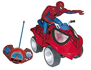 Spiderman rc quad bike toys games - Quad spiderman ...