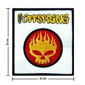 Ecusson brodé The Offspring Music Band Logo I Emblem patche Patches