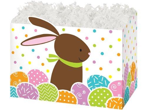 Large Chocolate Bunnybasket Boxes 10-1/4 inch X 6 inch X 7-1/2 inch 6 - Zoll 6 Geschenk-boxen