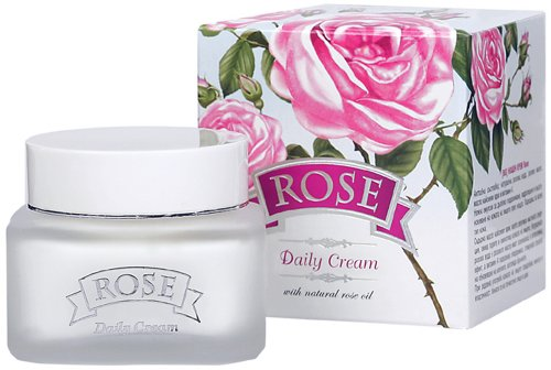 Crème de jour à l'huile de rose 50 ml