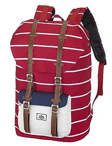 Bear&Goodies Narvik Rucksack, Unisex, für Laptop bis 15 Zoll, als