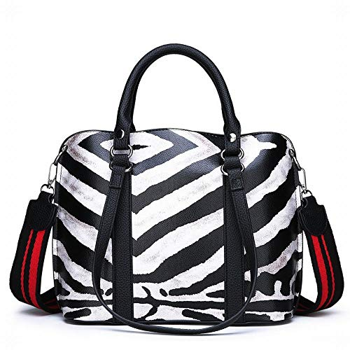 FELICIOO Damen Umhängetasche Tote Bag Fashion Schulter Diagonal Leopard Print Big Bag (Color : 3)
